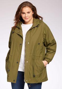 418ad5a93d8ad Weather-Resistant Taslon® Anorak