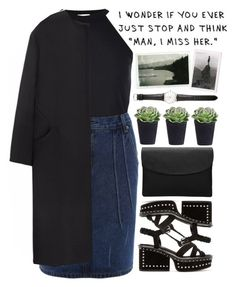 """""""Walk this way"""" by mihreta-m ❤ liked on Polyvore featuring River Island, Marc Jacobs, Ole Mathiesen and Non"""