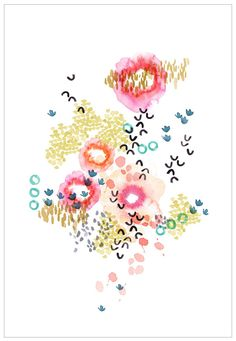 Garden Print by Kelly Ventura