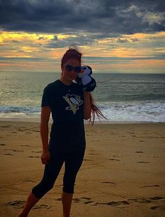 Twitter fan @ChefyStephie shows her Penguins pride at sunrise. #IsItOctoberYet?