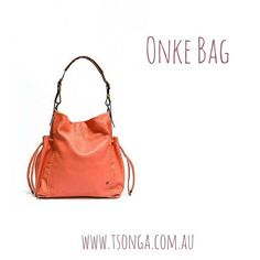 0cc8cf827d8 Onke - Coral Cayak Leather #tsongaaus #leather #handbag #style #shoplocal #