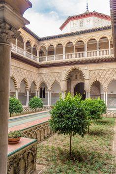 Alcázar of Seville (Andalusië, Spain)