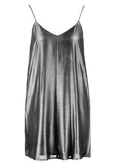 Topshop Sukienka letnia srebrny