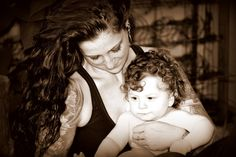 sweet photo of mother and child ~ son ~ daughter ~ at-home photography session ~ outdoor pics with natural light / lighting ~ candid shoot ideas ~ tattoo ~ mom ~ mommy ~ april allen P H O T O G R A P H Y ~ Chesapeake VA ~ Hampton Roads photographer