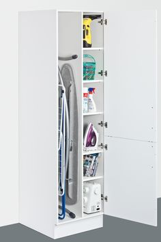 "Excellent ""laundry room storage diy"" information is offered on our site. Check it out and you wont be sorry you did. Utility Room Storage, Utility Closet, Laundry Room Organization, Laundry Storage, Cupboard Storage, Small Storage, Closet Storage, Diy Storage, Utility Cupboard"