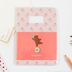 "Libreta pequeña pautada ""Donut"" #notebook #stationery"