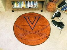 University of Virginia Basketball Rug