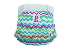Culotte little gPants gDiapers Gamma Stripe
