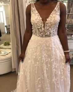 """Mirror Mirror Bridal Boutique on Instagram: """"Light, sparkly, very pretty and new in! Time to book in and find the one💕 . . @pronovias 2020 'Beyond the Stars'⭐️ Now in the boutique."""" Mirror Mirror Bridal, Finding The One, Bridal Boutique, Stars, Wedding Dresses, Book, Pretty, Instagram, Fashion"""