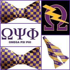Omega Psi Phi bow ties