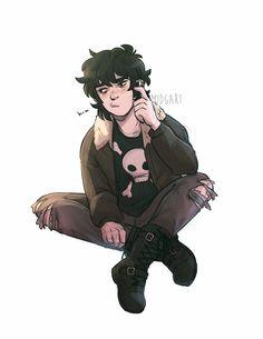 Percy Jackson Fan Art, Percy Jackson Fandom, Magnus Chase, Son Of Hades, Fanart, Rick Riordan Books, Solangelo, Uncle Rick, Heroes Of Olympus