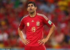 Kabar mengejutkan datang dari juara dunia tahun 2010 yang lalu, timnas Spanyol. Pasalnya, tim berjuluk la furio roja ini harus kehilangan striker naturalisasi mereka, Diego Costa karena cedera yang membekapnya.
