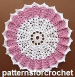 Free crochet patterns doilies and mats