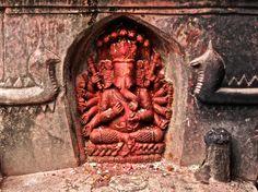 Ganesh statue, Patan, Nepal