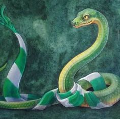 Proud to be a Slytherin.