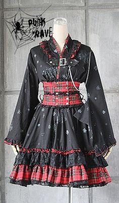 Awesome visual Kei dress