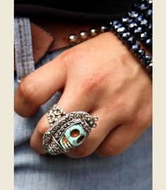APOTHECARY RING TURQUOISE - Junk GYpSy co.