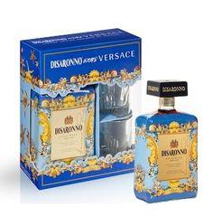 Amaretto Disaronno Versace met glazen  Disaronno wears Versace geschenkverpakking inclusief 2 luxe glazen  #disaronno #amaretto #versace #disaronnoversace #glasses #glazen #geschenkverpakking #exclusivedrinks