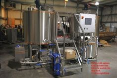 7 bbl Skid Mounted Brewhouse