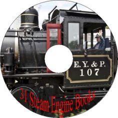 How To Repair Fix Construction Steam Gas Farm Marine Engine Motor Old Books CD