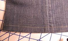 How to Hem a Pair of Jeans--Fast and Easy