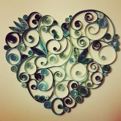 My heart is blue without you #blueheart #paperheart #paperquilling #paperquillingheart #paperquillingart #quilling #quillingart #paperquilledheart #paperquilledart #quilledheart #quilledart #quilled #madebyhand #handmade #lookwhaticando #lookwhaticanmake #iheartquilling