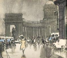А. Кокорин «Ленинградский альбом», 1968 год