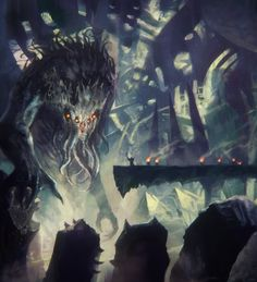 Cthulhu rising – horror concept by David Demaret Lovecraft Cthulhu, Hp Lovecraft, Kraken, Dark Fantasy, Fantasy Art, Call Of Cthulhu Rpg, Lovecraftian Horror, Eldritch Horror, Horror Art
