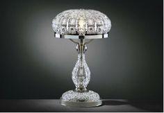 Bohemia Crystal, Czech Bohemia Crystal, Oil Lamps, Lamp Light, Lighting, Glass, Crystal Lamps, Home Decor, Crystal, Art Deco