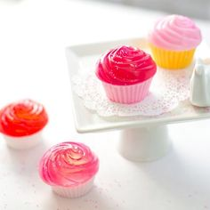 How to make adorable looking cupcake soap