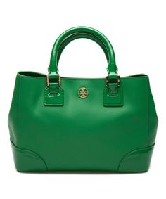 Look at this #zulilyfind! Emerald City Robinson Mini Square Leather Tote #zulilyfinds