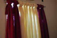 DIY Easy Peasy No Sew Curtain DIY Curtains DIY Home DIY Decor