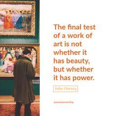 Quotable - John Hersey