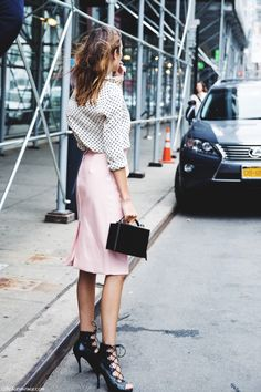 #Alexachung - pink & polka dots - by collage vintage