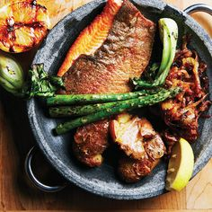 Toronto Life Cookbook Recipe Seared trout and smashed potatoes from Starfish restaurant Potato Recipes, Fish Recipes, Seafood Recipes, Savoury Recipes, Seafood Restaurant, Restaurant Recipes, Starfish Restaurant, Seafood Dishes, Fish And Seafood