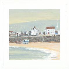Buy Anthony Waller - The Slipway Framed Print, 45 x 45cm Online at johnlewis.com