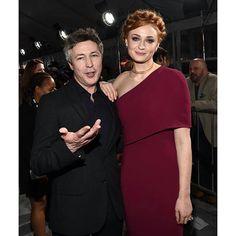 Aidan Gillen and Sophie Turner at the GoT LA premiere!