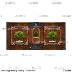 Genealogy Family Tree Vinyl Binder