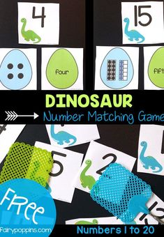 Dinosaur Math Activities Fairy Poppins is part of Dinosaurs preschool - These dinosaur math activities are great for kids learning numbers up to twenty They include dinosaur math centers and worksheets suitable for kindergarten Dinosaurs Preschool, Dinosaur Activities, Dinosaur Crafts, Kindergarten Math, Learning Activities, Preschool Activities, Kids Learning, Vocabulary Activities, Learning Spanish