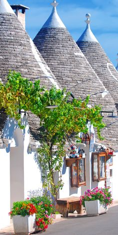 Typical houses of Alberobello, Puglia, Italy