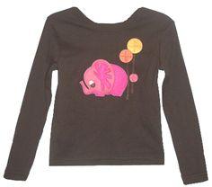"""Decaf Plush """"Elephant"""" Bodysuit or T-Shirt"""