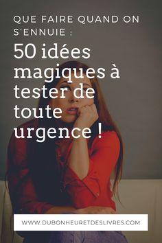 Envie De Ne Rien Faire : envie, faire, Profil, Bonheur, Livres, Développement, Personnel, (dubonheuretdeslivres), Pinterest