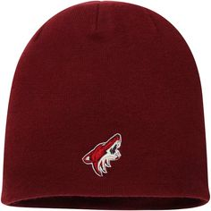 reputable site d635c a1ed3 Men s Arizona Coyotes Fanatics Branded Garnet Core Knit Beanie, Your Price    17.99. NHL Caps   Hats