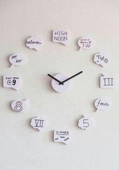 Quotes clock..... Awesome