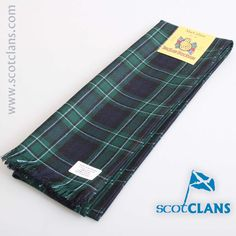 MacCallum Modern Tartan Scarf. Free worldwide shipping available.