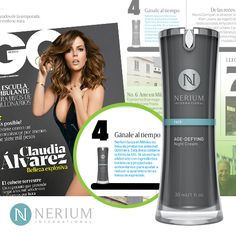 Nerium has graced the pages of the recent issue of GQ México!