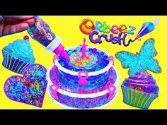 NEW Orbeez Crush BIRTHDAY CAKE Sweet Treats Studio Play Set Make Your Own Cupcakes & DIY Cookies - YouTube