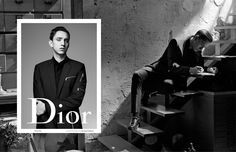 jamie xx and oliver sim collaborate on spring/summer 16 dior homme campaign film