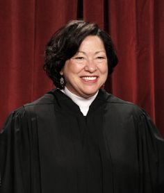 "Proud of her. ~ Sonia Sotomayor | Higher Calling | ""I strive never to forget the real world consequences of my decisions on individuals, businesses and government."""