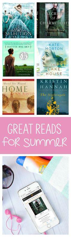 25+ Best Books for Summer!